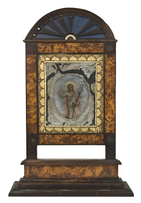 """Lichtschirm mit """"Spinnwebbild"""" von Burgmann, Johann"""