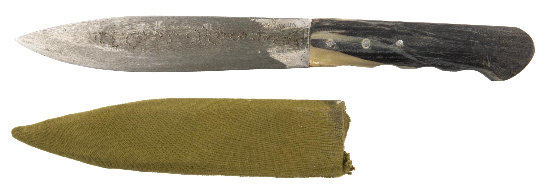 Stechmesser mit Messerscheide von Krpata, Margit Z