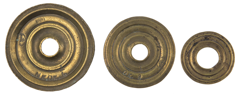 Drei Gewichte von Krpata, Margit Z