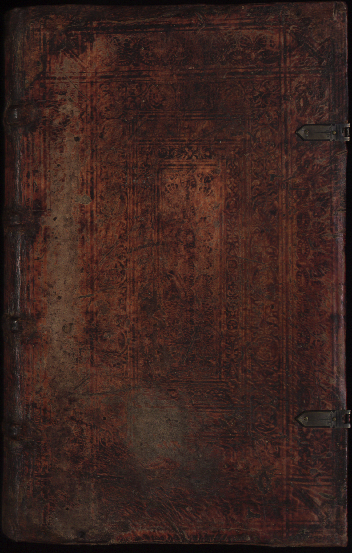 Hauspostille, Vorderdeckel von Hausotter, Alexander