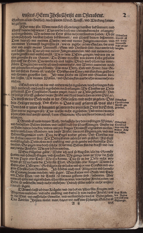 Hauspostille, 2. Teil f. 2r von Hausotter, Alexander