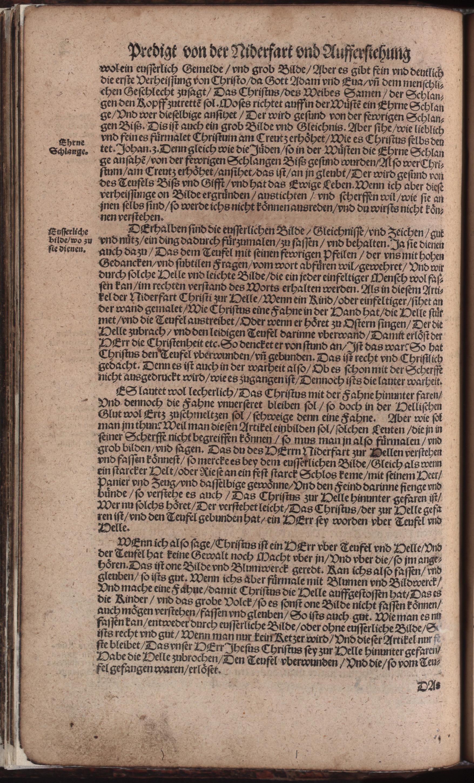 Hauspostille, 2. Teil f. 2v von Hausotter, Alexander