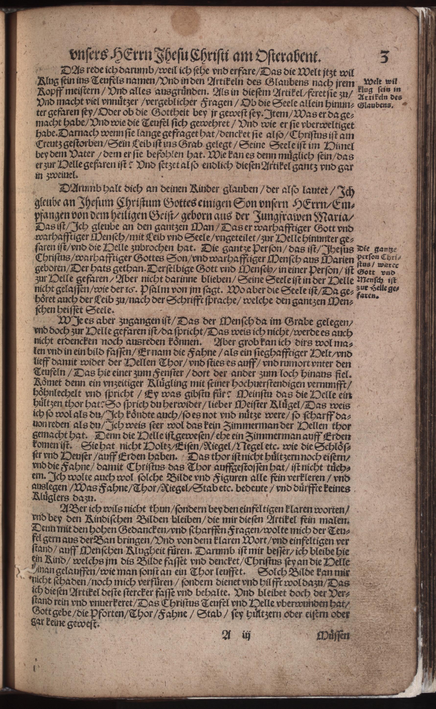 Hauspostille, 2. Teil f. 3r von Hausotter, Alexander