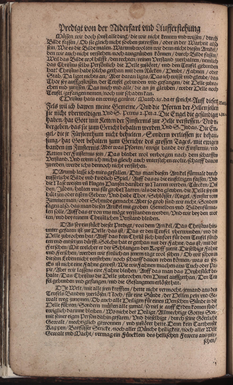 Hauspostille, 2. Teil f. 3v von Hausotter, Alexander