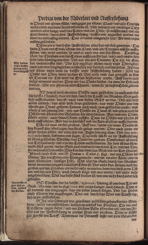 Hauspostille, 2. Teil f. 4v von Hausotter, Alexander