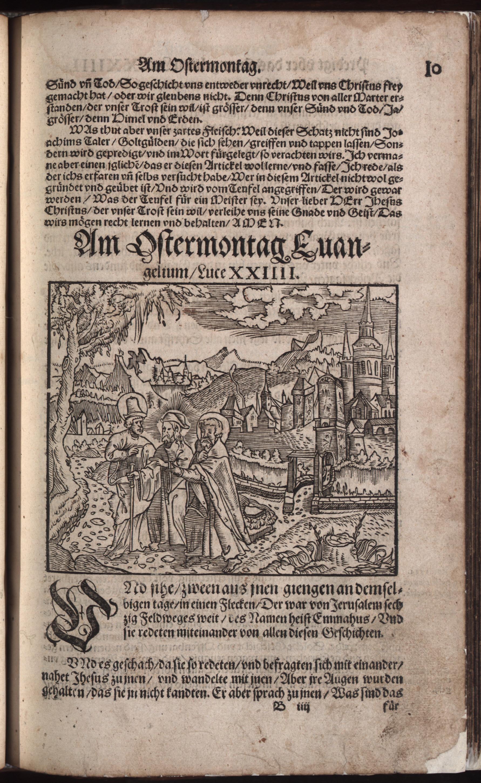 Hauspostille, 2. Teil f. 10r von Hausotter, Alexander