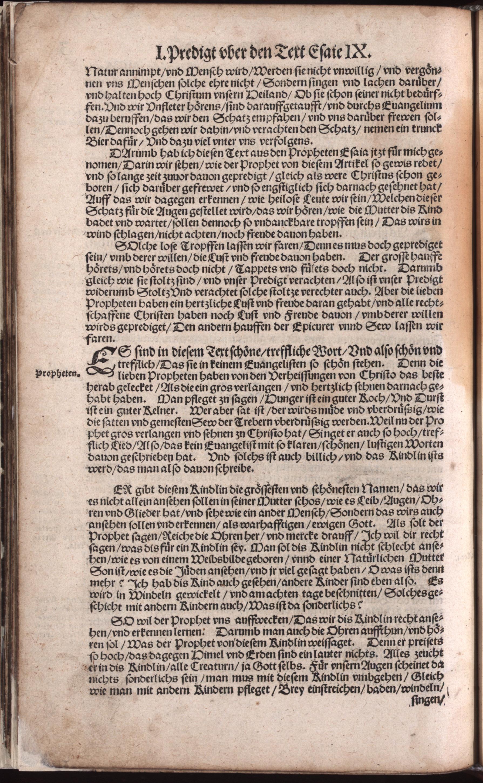 Hauspostille, 3. Teil f. 3v von Hausotter, Alexander