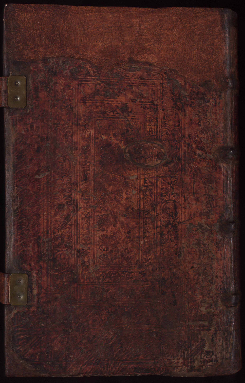 Hauspostille, Rückdeckel von Hausotter, Alexander