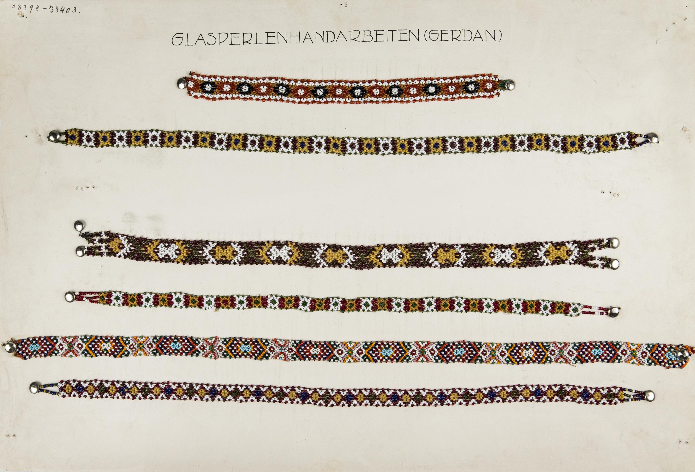Perlenband: Halsband von K.k. Ministerium des Innern