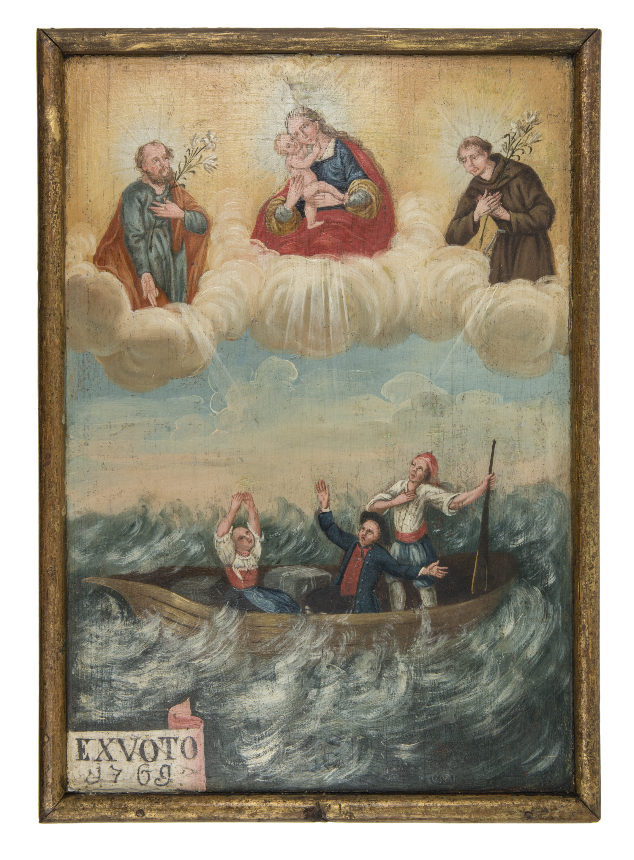 Votivbild von Moroder, Josef